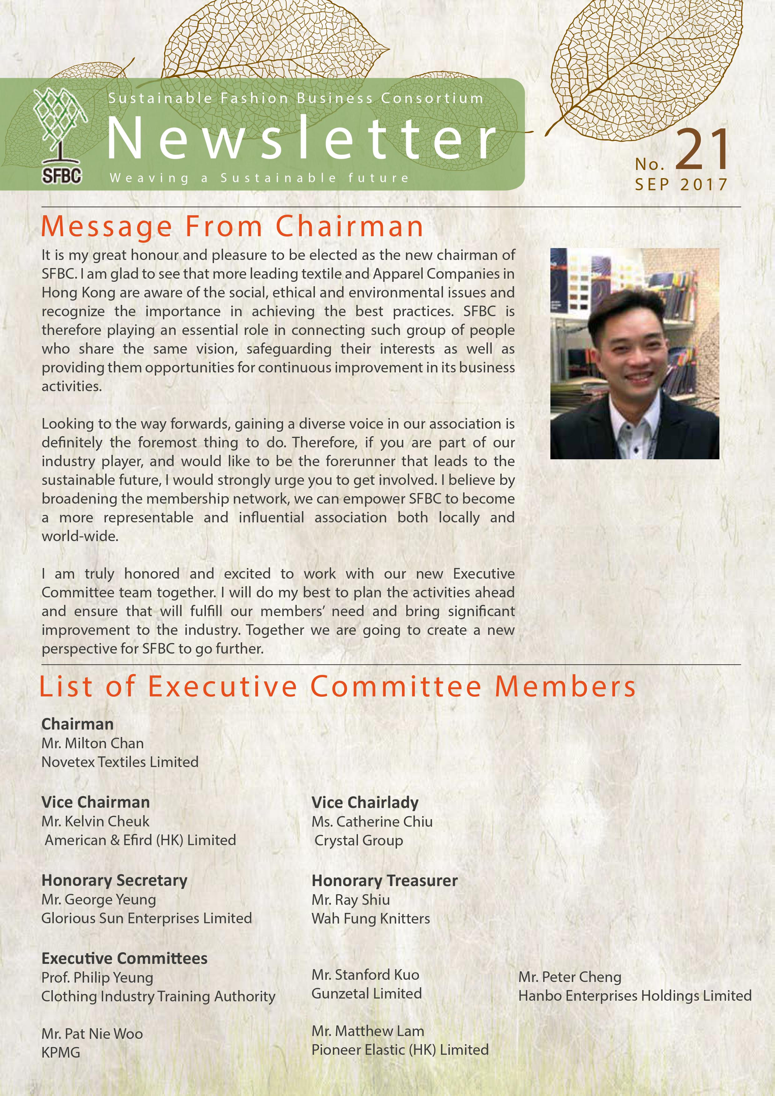 SFBC 21st Newsletter